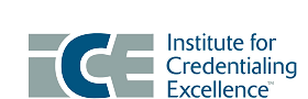 Institute of Credentialing Excellence Logo