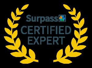 Surpass Certified Expert Badge