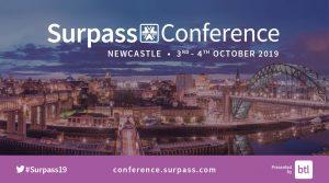 Surpass Conference 2019 advert
