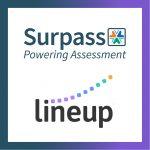 Surpass and Lineup logos